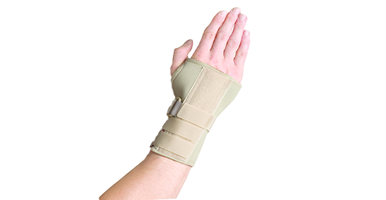 Thermoskin Thermoskin Wrist Hand Brace with Dorsal Stay - Left 8*268 Right 8*269