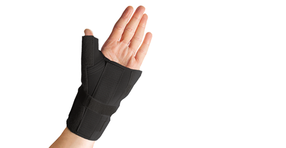 Thermoskin Thermal Wrist Brace with Thumb Splint - 80138 / 80139