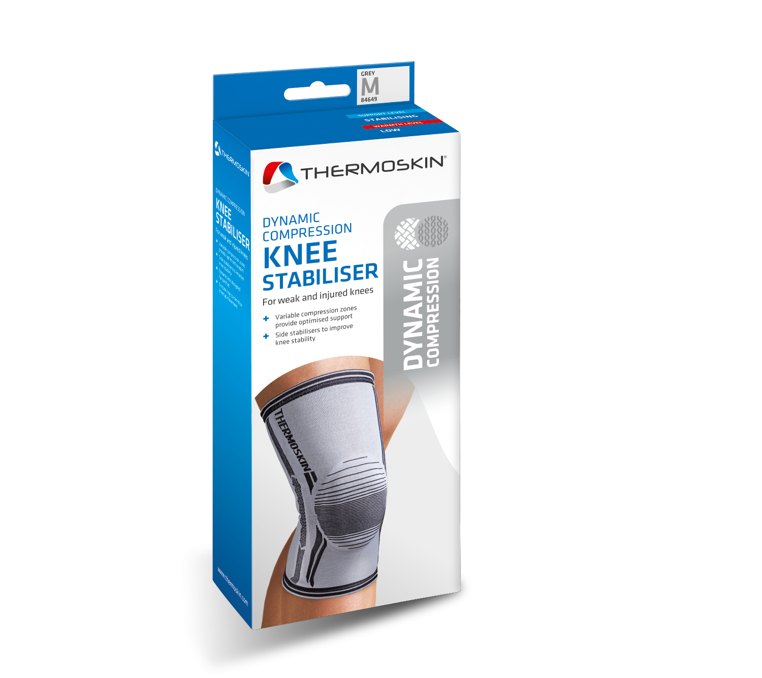 Thermoskin Dynamic Compression Knee Stabiliser - 8*649