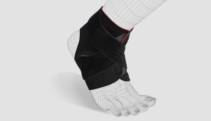 Thermoskin EXO™ Adjustable Ankle Wrap - 80103