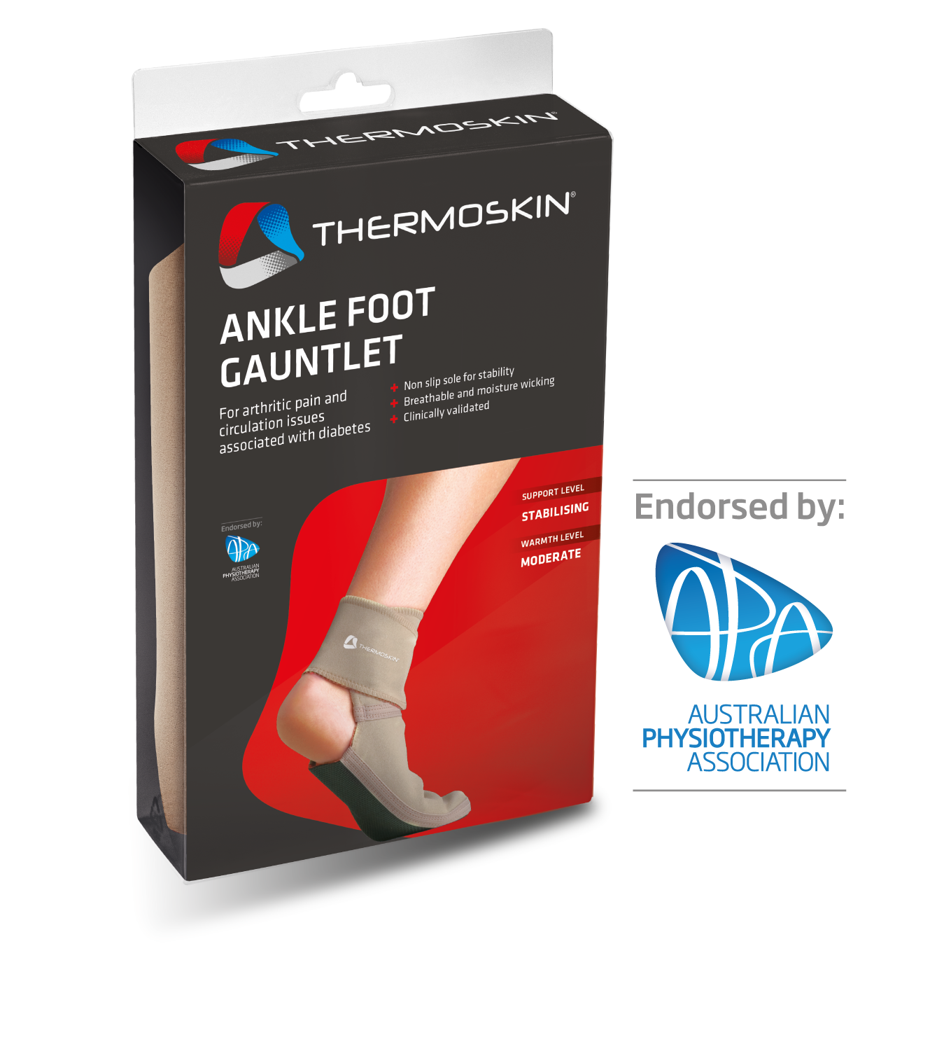 Thermoskin Ankle Foot Gauntlet - 8*232