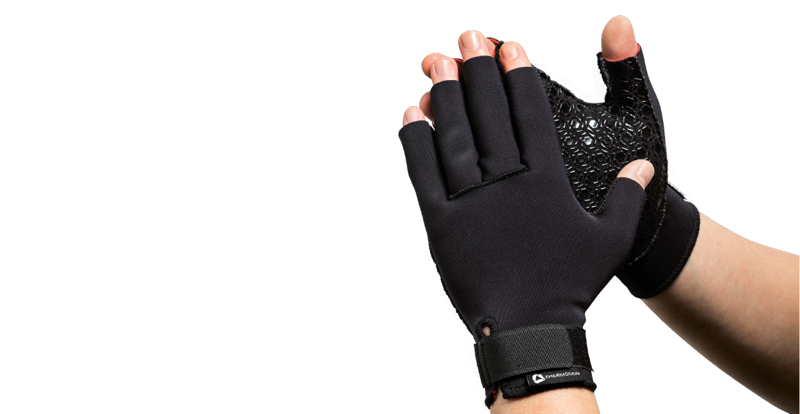 Thermoskin Thermal Compression Gloves - Black 8*192 (sold in a pair)
