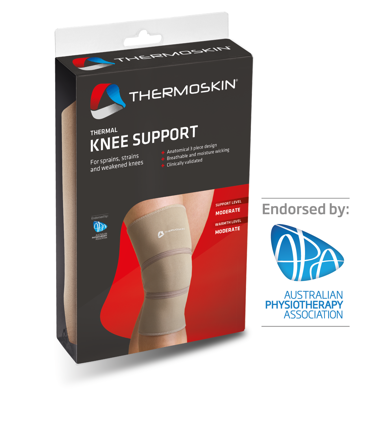 Thermoskin Thermal Knee Support - 8*208