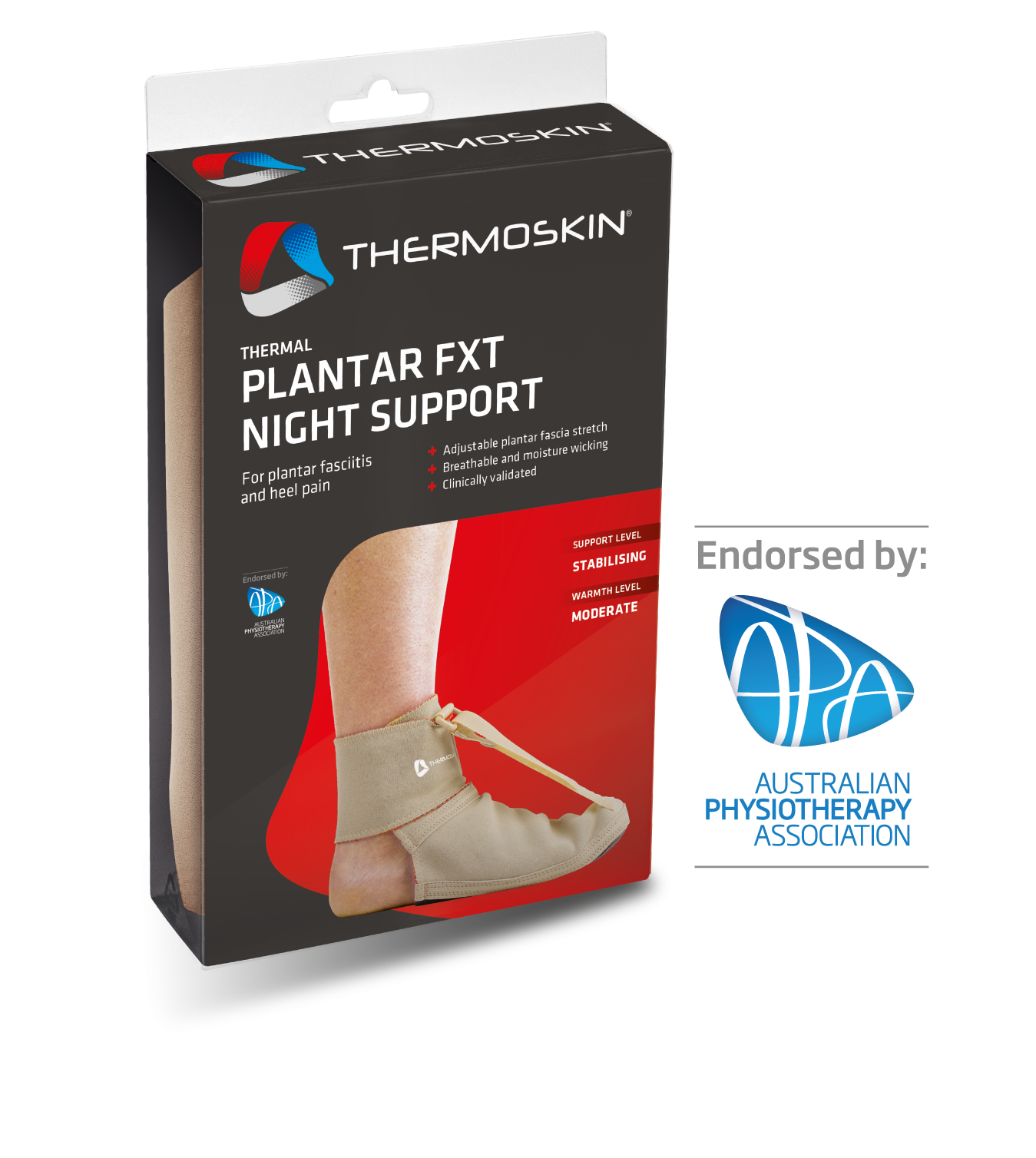 Thermoskin Thermal Plantar FXT Night Support - 8*234