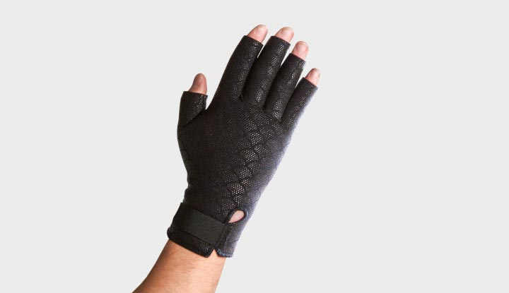 Thermoskin Thermal Compression Gloves - Black 8*199 (sold in pairs)