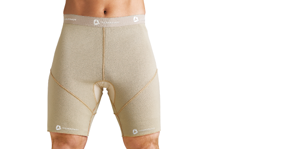 Thermoskin Shorts - Beige 8*225 | Black 8*125
