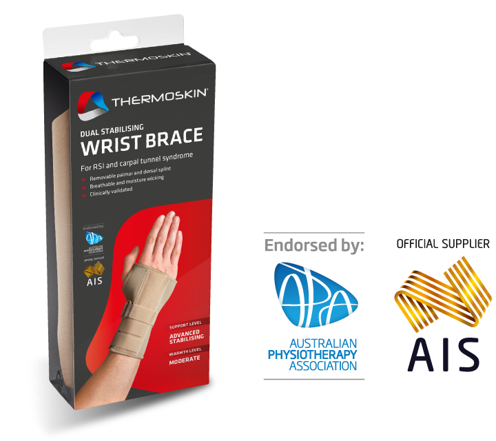 Thermoskin Dual Stabilising Wrist Brace - Left 8*268 Right 8*269