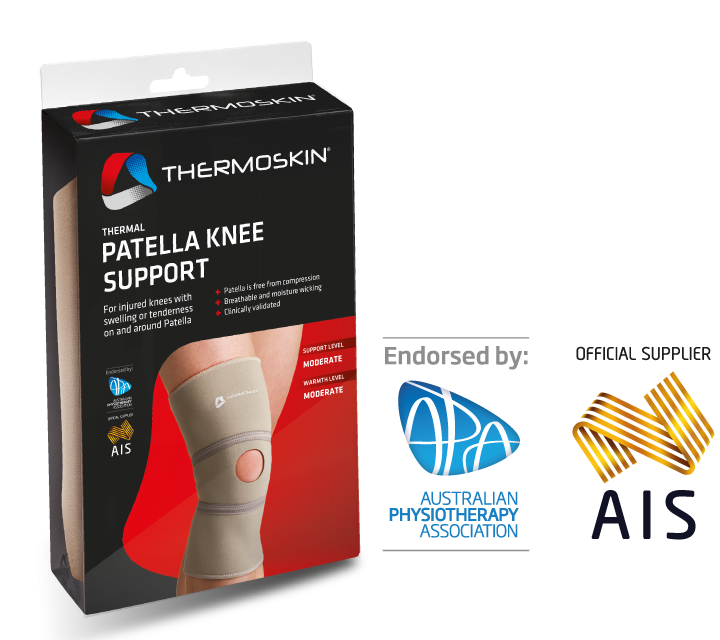Thermoskin Thermal Patella Knee Support - Beige 8*209