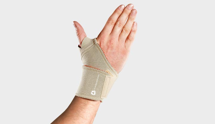 Thermoskin Adjustable Wrist Wrap - Beige 8*226